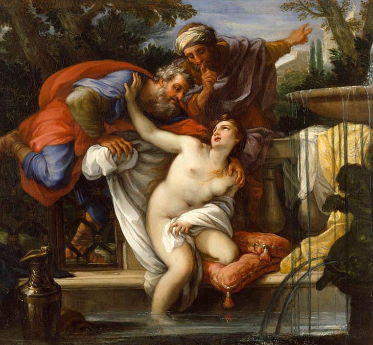 Matumboli Giuseppe Bartolomeo Chiari Susannah and the Elders Wikipédia Harcèlement Sexuel